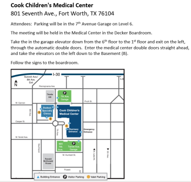 Cook Childrens Directions 2